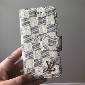 LV Phone Case Wallet